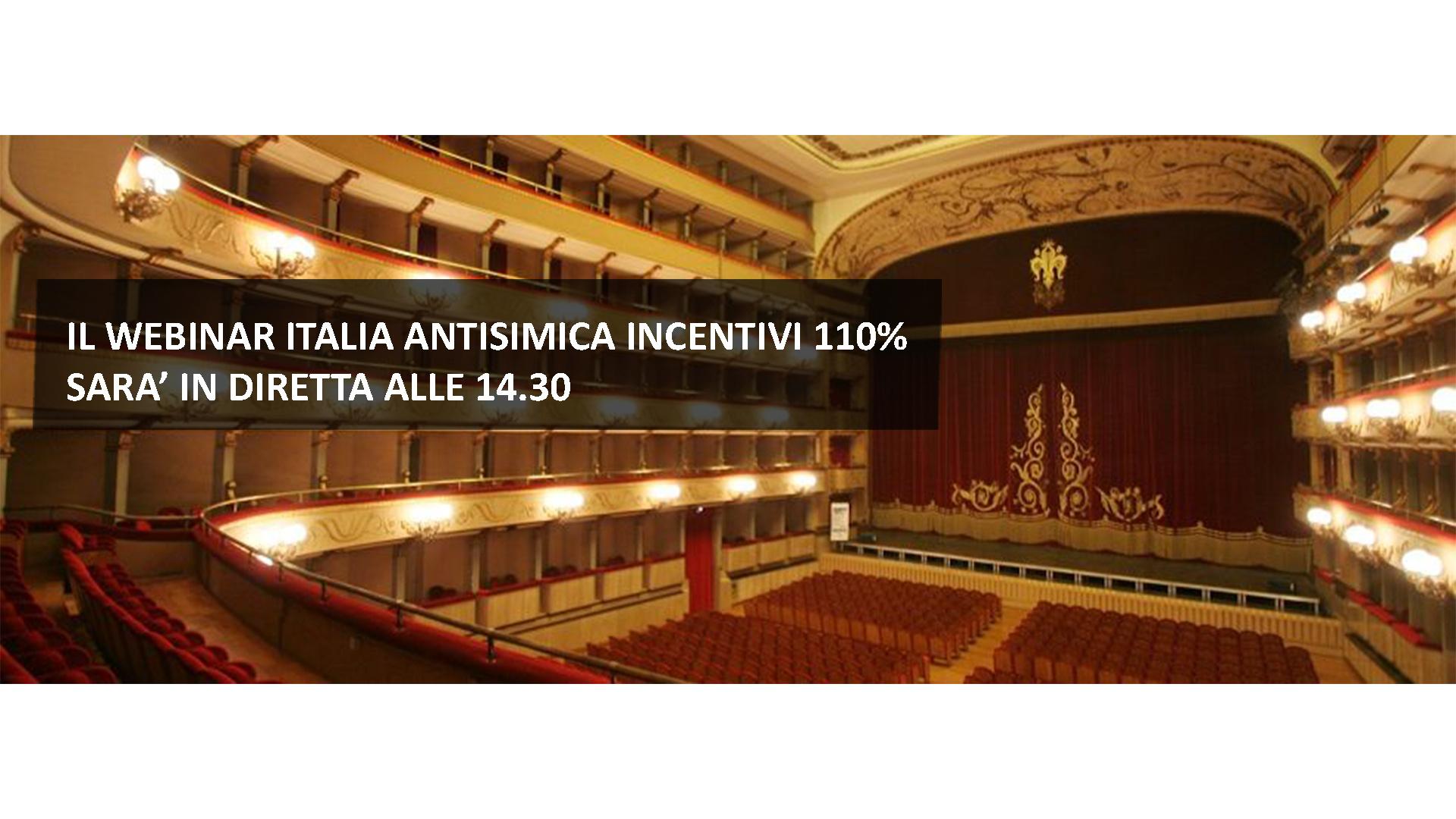 ITALIA ANTISISMICA- INCENTIVI 110% DIMENSIONI DEL MERCATO TOSCANO ABACO DELLE TECNOLOGIE DISPONIBILI