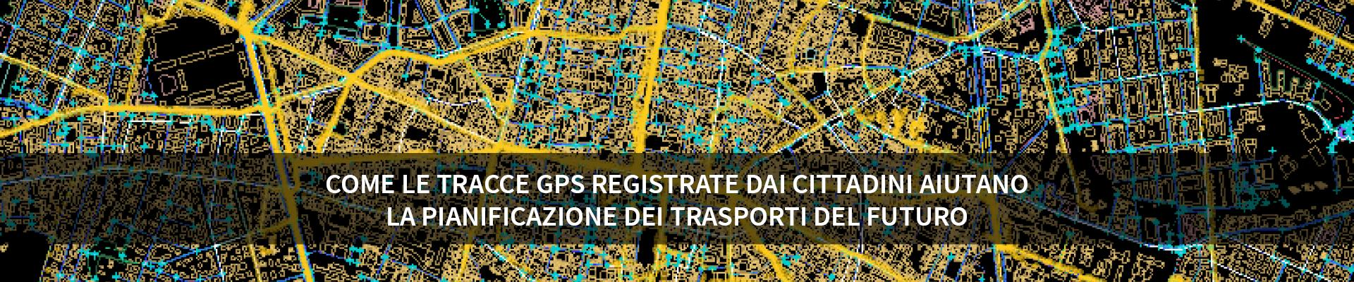 Come le tracce GPS registrate dai cittadini aiutano la pianificazione dei trasporti del futuro -