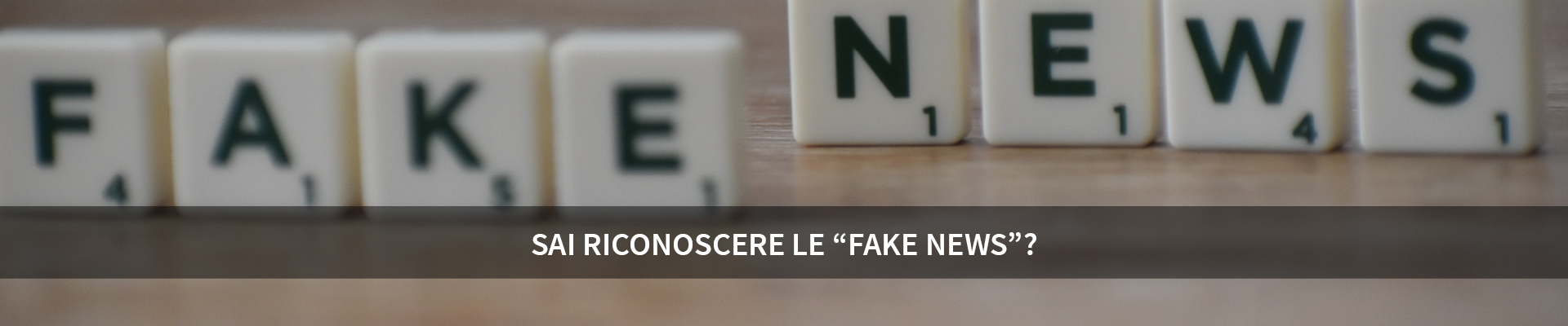 Sai riconoscere le fake news? - MINERVA -