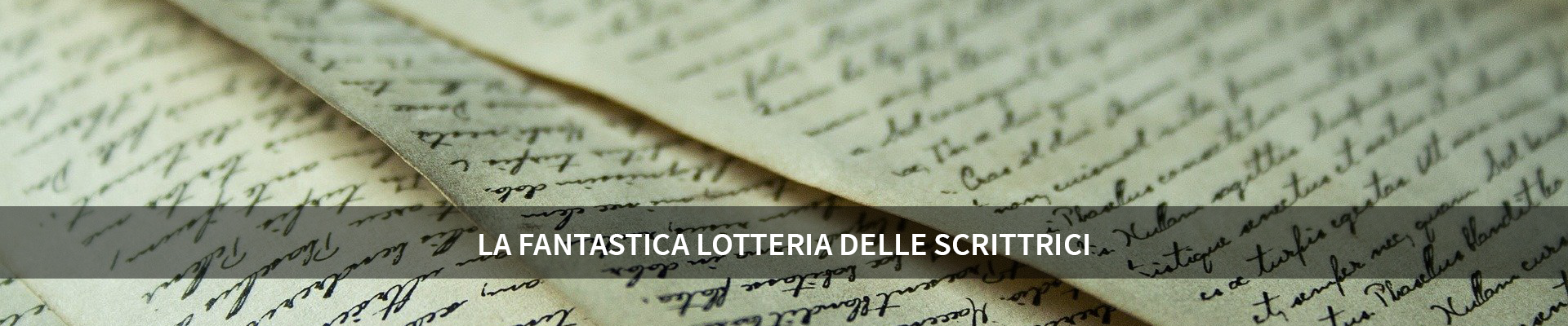 La fantastica lotteria delle scrittrici -