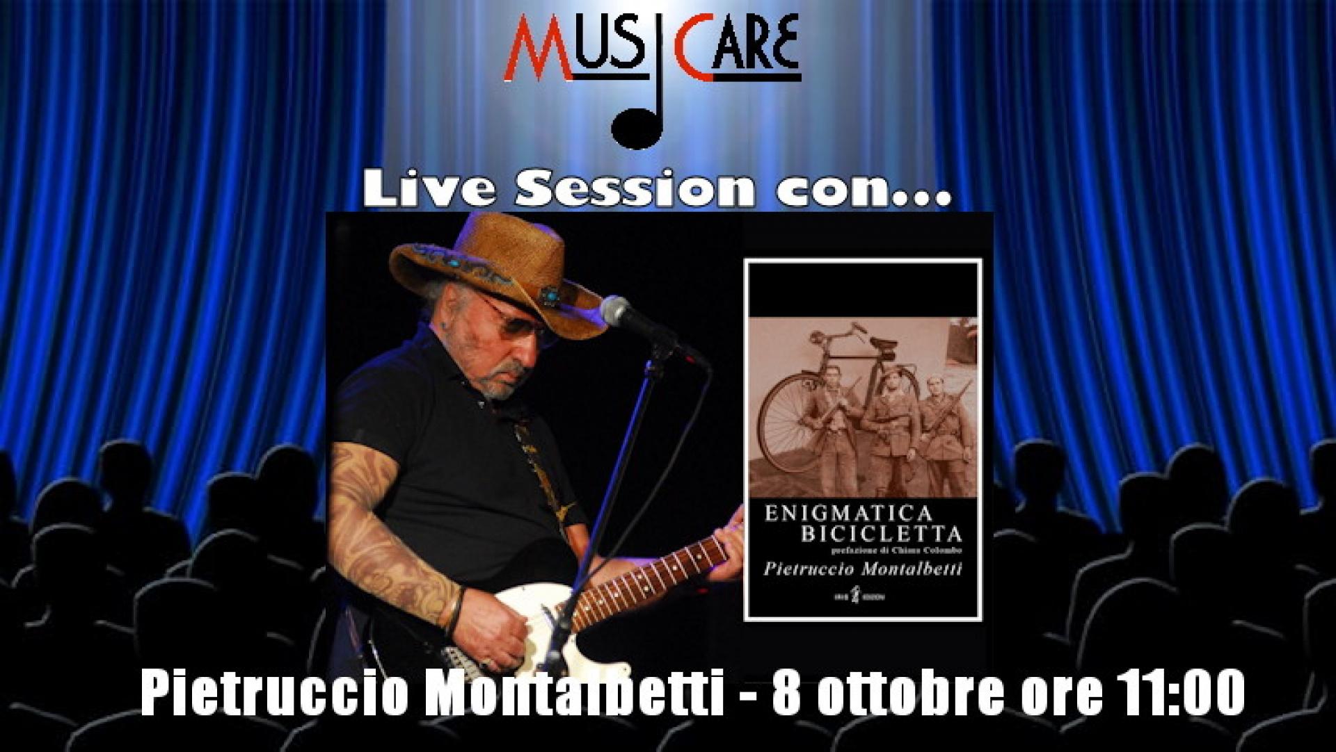Pietro Montalbetti, il chitarrista dei Dik Dik presenta