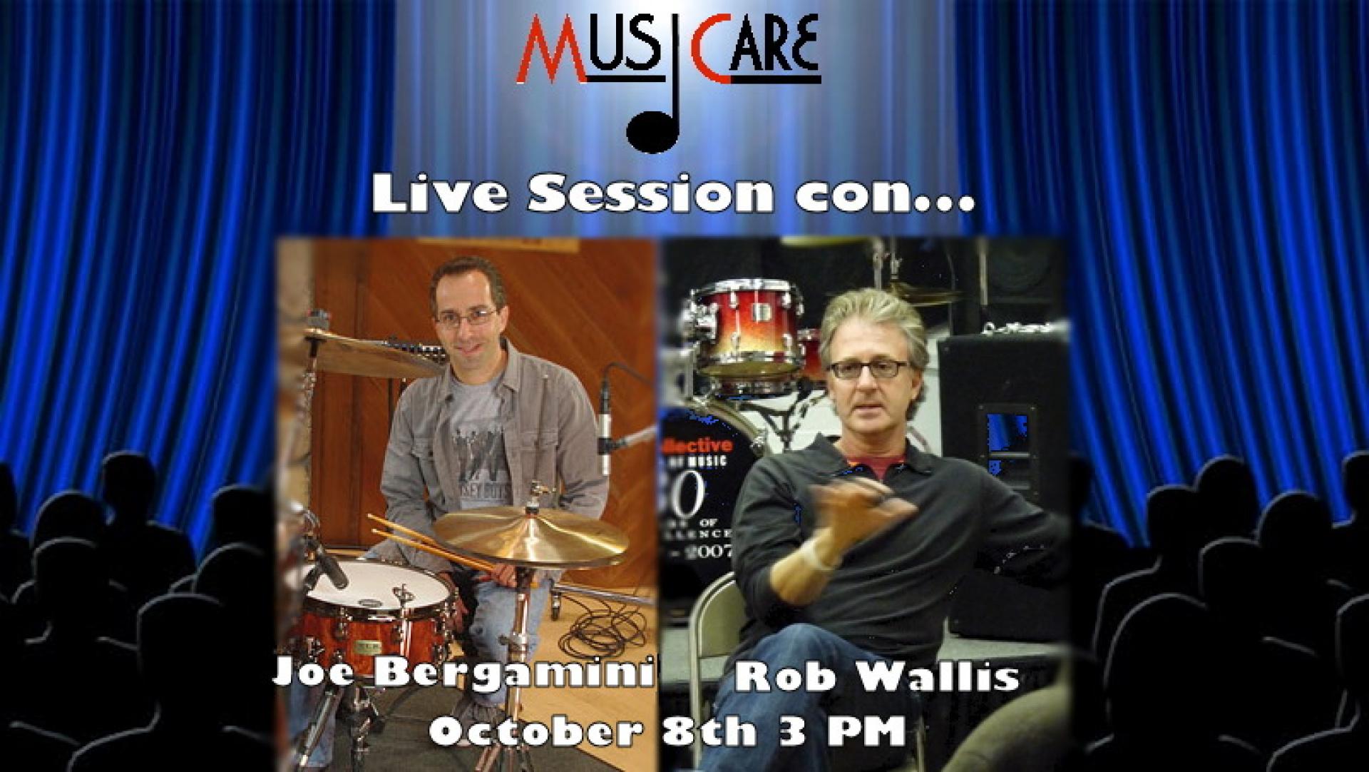 Rob Wallis & Joe Bergamini - Hudson Music